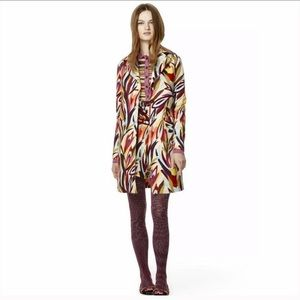 Missoni For Target Printed Trench Coat Size M